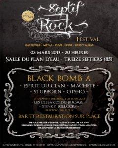 Festival Septifrock 2012