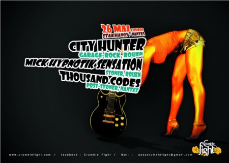 City Hunter / Mick Hypnotick Sensation / Thousand Codes