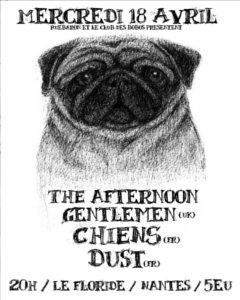 The Aftermen Gentlement / Chiens / Dust