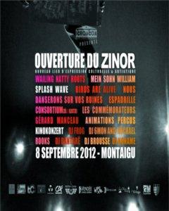 Ouverture du Zinor à Montaigu