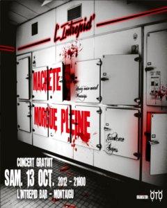 Machete et Morgue Pleine à l'Intrépid !