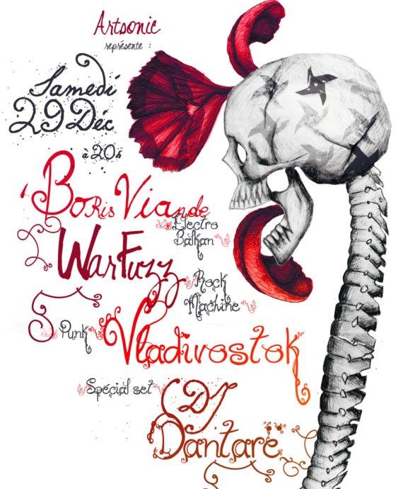 Concert de Noel Artsonic 29-12-2012