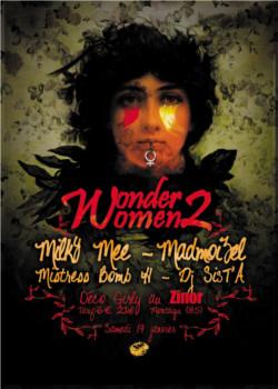 Wonder Women 2 : Milky Mee, Mistress Bomb H, Madmoizel, Dj Sist'A