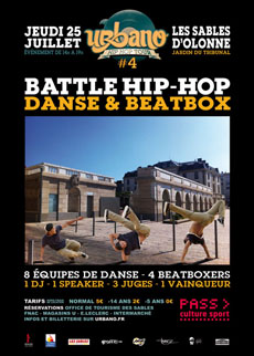 UrbanoTour4-Battle Hip-hop-LesSables