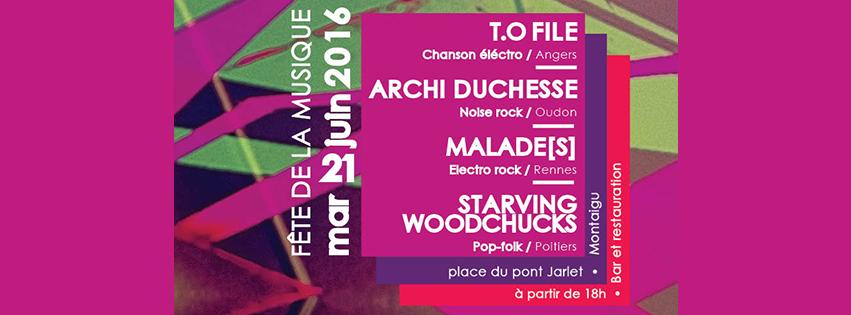 21 06 2016 FÊTE DE LA MUSIQUE DE MONTAIGU