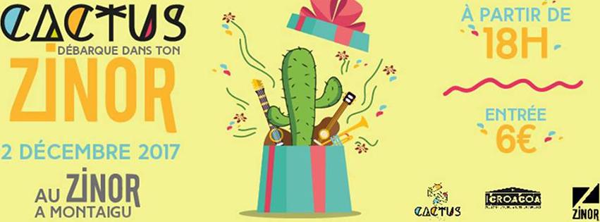 BANDEAU Cactus asso