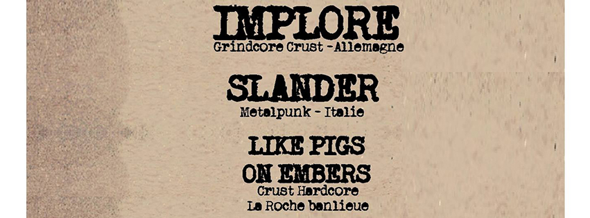 BANDEAU implore + guests