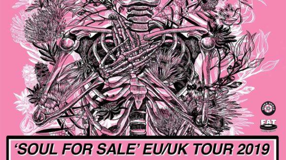 Affiche de la tournée européenne de Clowns