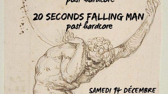 Affiche concert de Verdun // The Third Eye // 20 Seconds Falling Man au Zinor Montaigu Vendée